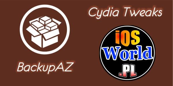 BackupAZ – backup ustawień także tych w Cydii