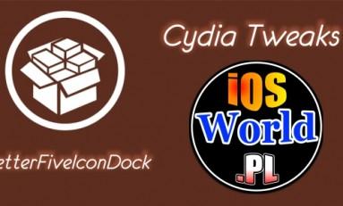 BetterFiveIconDock - 5 ikon w dock'u na iOS 8