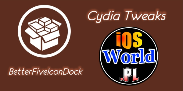 BetterFiveIconDock – 5 ikon w dock'u na iOS 8