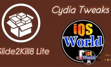 Slide2Kill8 Lite - wyłącz aplikacje jednym gestem