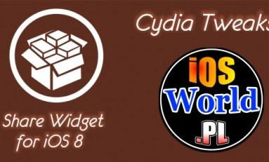 Share Widget for iOS 8 - wysyłanie postów