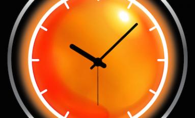 Weather + clock - widżet pogodowy.