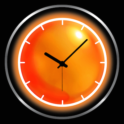Weather + clock – widżet pogodowy.