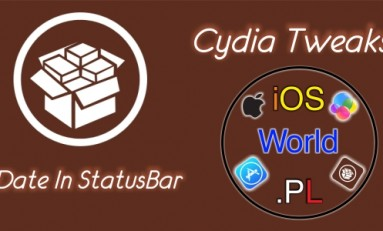 Date In StatusBar - aktualna data na pasku