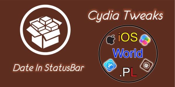 Date In StatusBar – aktualna data na pasku