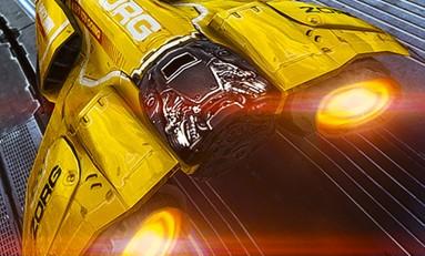 Futurystyczne wyścigi - AG Drive.