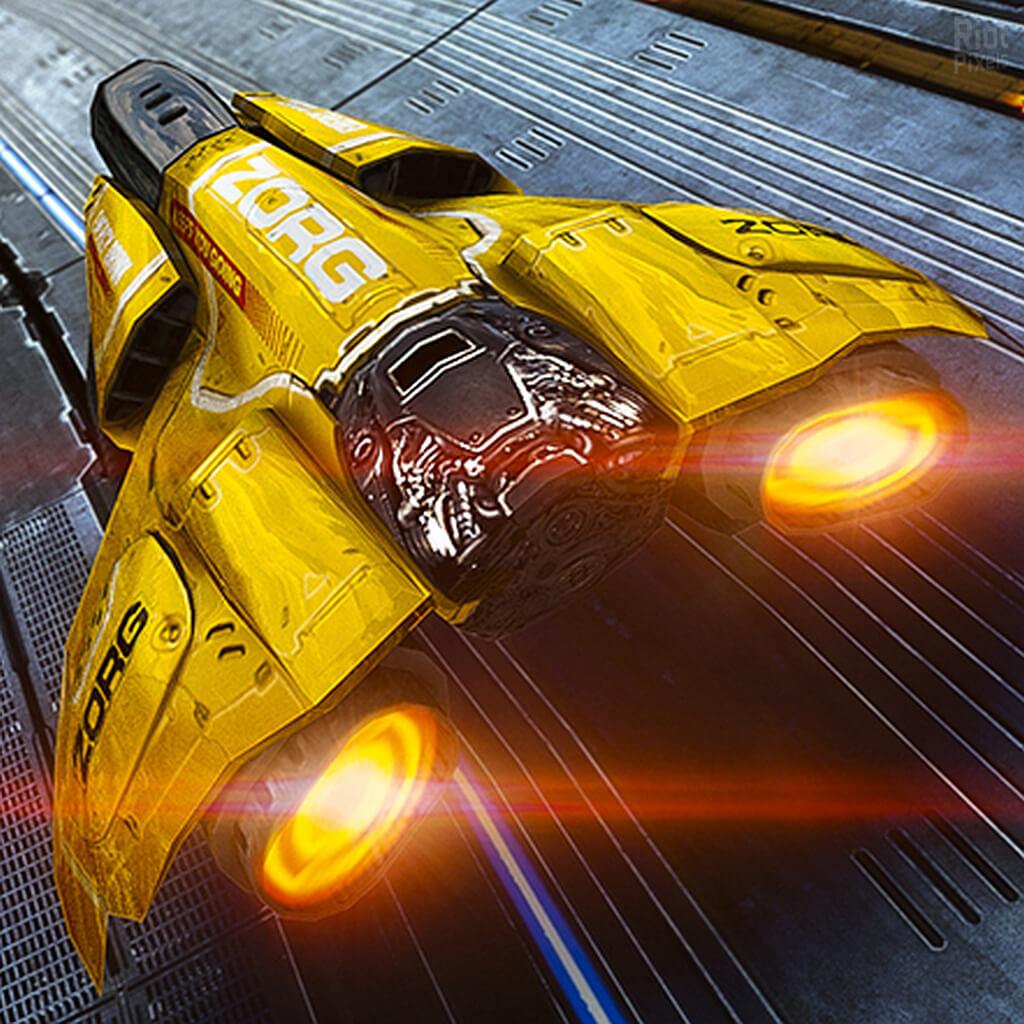 Futurystyczne wyścigi – AG Drive.