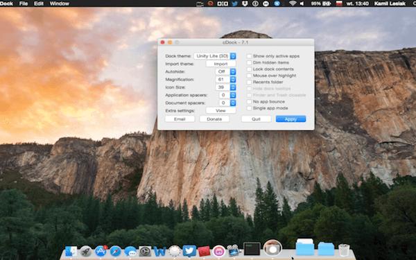 #Poradnik – jak uruchomić dock 3D w OS X Yosemite.