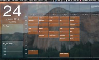 Blotter - widget z kalendarzem i nie tylko.