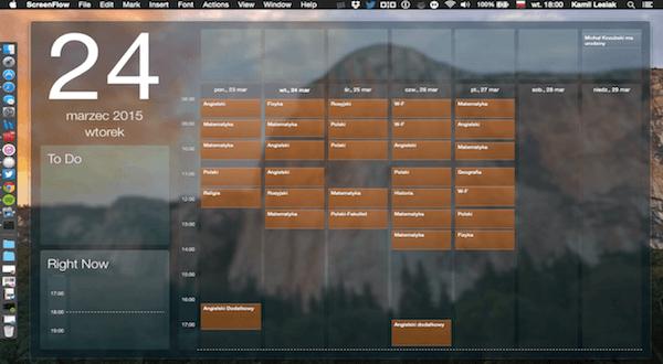 Blotter – widget z kalendarzem i nie tylko.