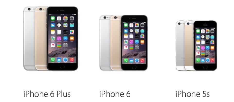 Porównanie cen przed i po podwyżce na różnych kontynentach iPhone 6 Plus, 6 oraz 5S.