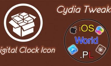 Digital Clock Icon - Zegar jako cyfrowa wersja