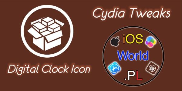 Digital Clock Icon – Zegar jako cyfrowa wersja