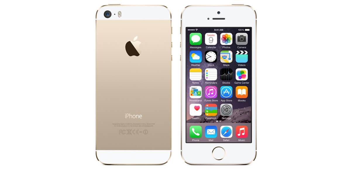 Nagły wzrost sprzedaży iPhone 5S.