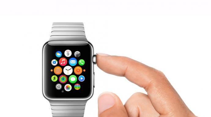 Wybrane aplikacje na Apple Watch.