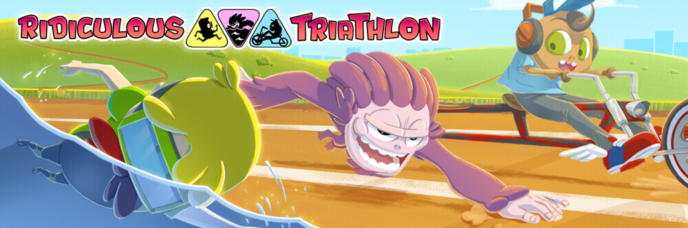 Endless runner odkryte na nowo – Ridiculous Triathlon.
