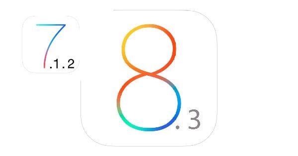 iPhone 4S iOS 7.1.2 vs iOS 8.3