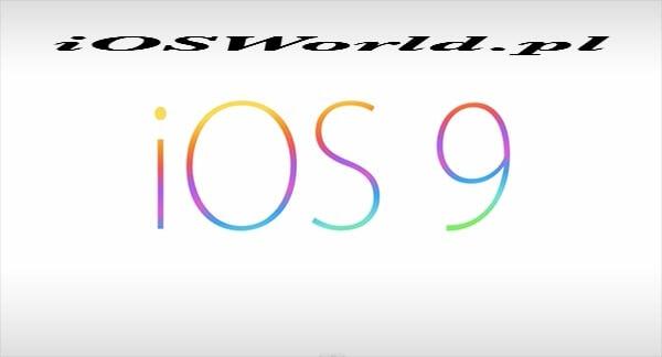 Co mogłoby się znaleźć w iOS 9.