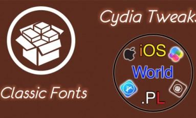 Classic Fonts - czcionka z iOS 6 w iOS 7/8
