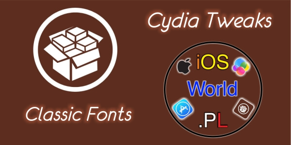 Classic Fonts – czcionka z iOS 6 w iOS 7/8
