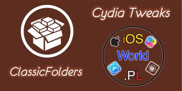 ClassicFolders – foldery z iOS 6 na iOS 7/8