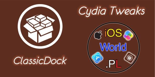 ClassicDock – dock z iOS 6 na iOS 7/8