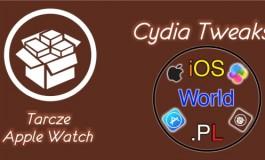 Tarcze Apple Watch na zablokowanym ekranie