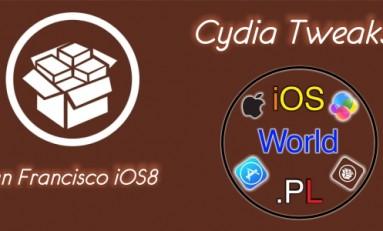 San Francisco iOS8 - czcionka z Apple Watch