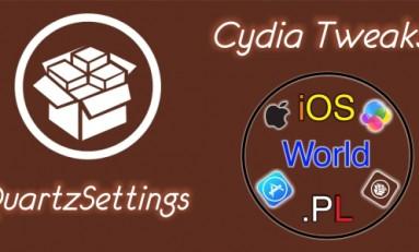 QuartzSettings - motywy aplikacji Ustawienia