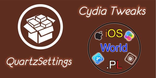 QuartzSettings – motywy aplikacji Ustawienia
