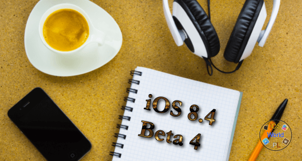 iOS 8.4 Beta 4 – zmiany przedstawione na filmie.