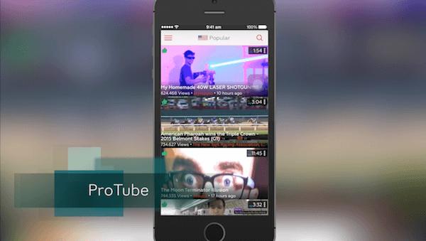 ProTube – YouTube w 1080p na iOS i nie tylko!