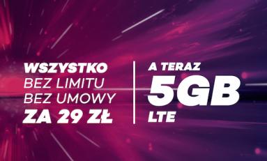 Promocja wakacyjna #BEZLIMITU w Virgin Mobile.