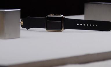 Zegarek Apple Watch Edition Gold za $10 000 rozwalony.