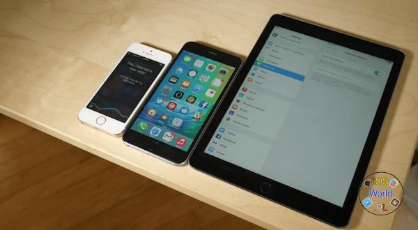 iOS 9 – rozmowy z iPada przy użyciu sieci komórkowej w T-Mobile.