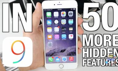 Kolejne 50 ukrytych funkcji w iOS 9!