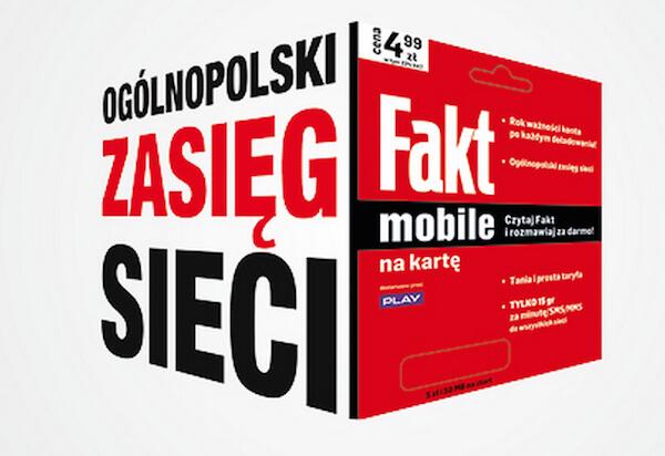 FAKT Mobile – nowa sieć działająca w ramach P4.