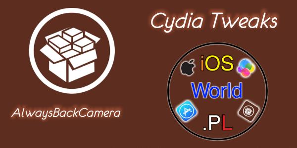 AlwaysBackCamera – zmiana kamery