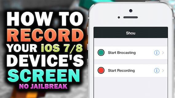 Shou – nagrywanie ekranu na iOS bez Jailbreak'a!