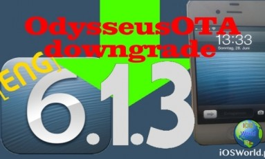 Nowy sposób na Downgrade do iOS 6.1.3