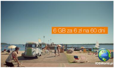 6 GB za 6 zł w Orange.