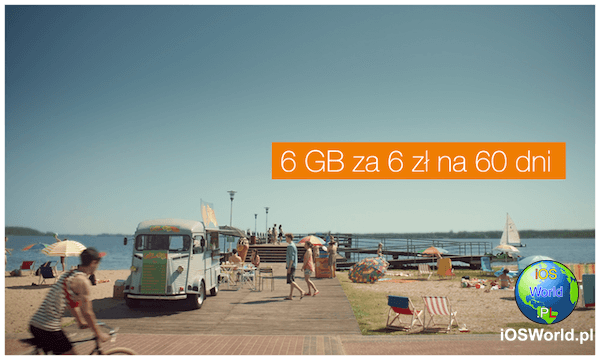 6 GB za 6 zł w Orange.