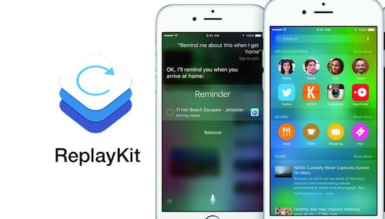 iOS 9 pozwala na nagrywania ekranu bez użycia komputera!