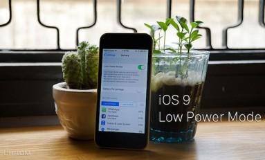 iOS 9 Publiczna Beta - Tryb oszczędzania energii.