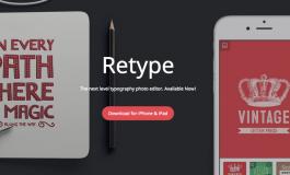 Dodajemy oryginalny podpis do naszego zdjęcia - Retype - Typography Photo Editor.