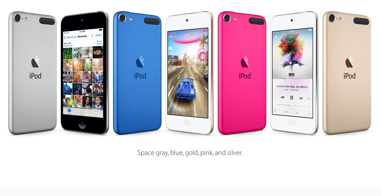 Porównanie iPod'a Touch 6 z iPhone 6 na filmie.