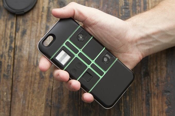Nexpaq – pokrowiec modułowy do iPhone'a