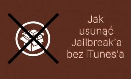 UnJailbreak - jak usunąc jailbreak'a bez iTunes'a