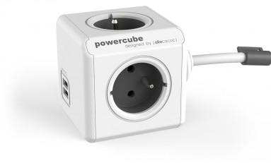 PowerCube - zasilacz (kostka) w minimalistycznym stylu.