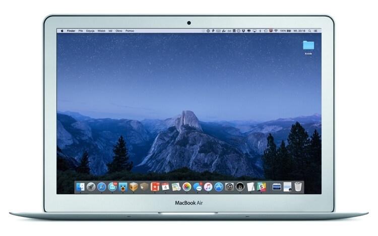 Nowa tapeta z czwartej bety OS X El Capitan.